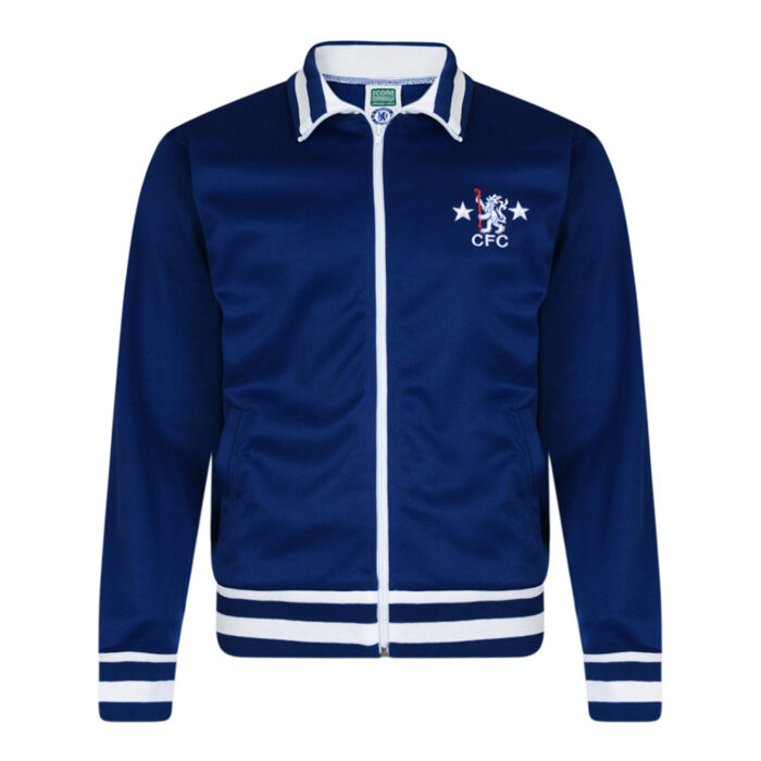 Chelsea 1977-78 Retro Football Track Top