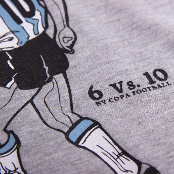 Copa 6 Vs 10 Maglietta Casual