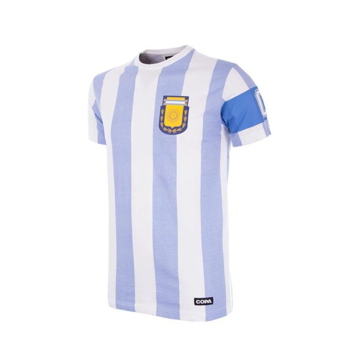 Argentina Capitán Camiseta Casual Niño