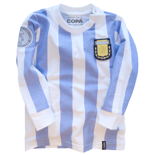 Argentine Tee Shirt My First Football Shirt