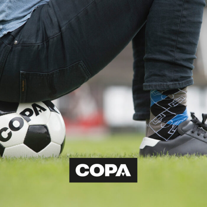 Copa Argyle Pitch Calze Azzurro Grigio Nero
