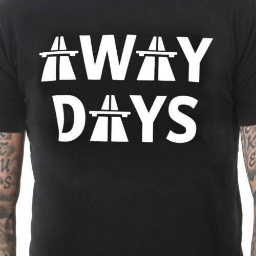 Copa Away Days Maglietta Casual Nera