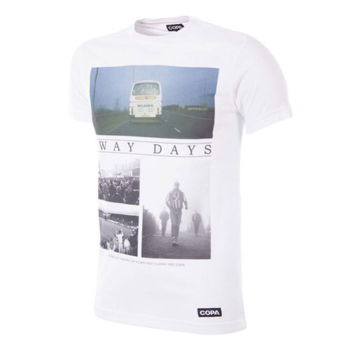 Copa Away Days Tee Shirt Casual Blanc
