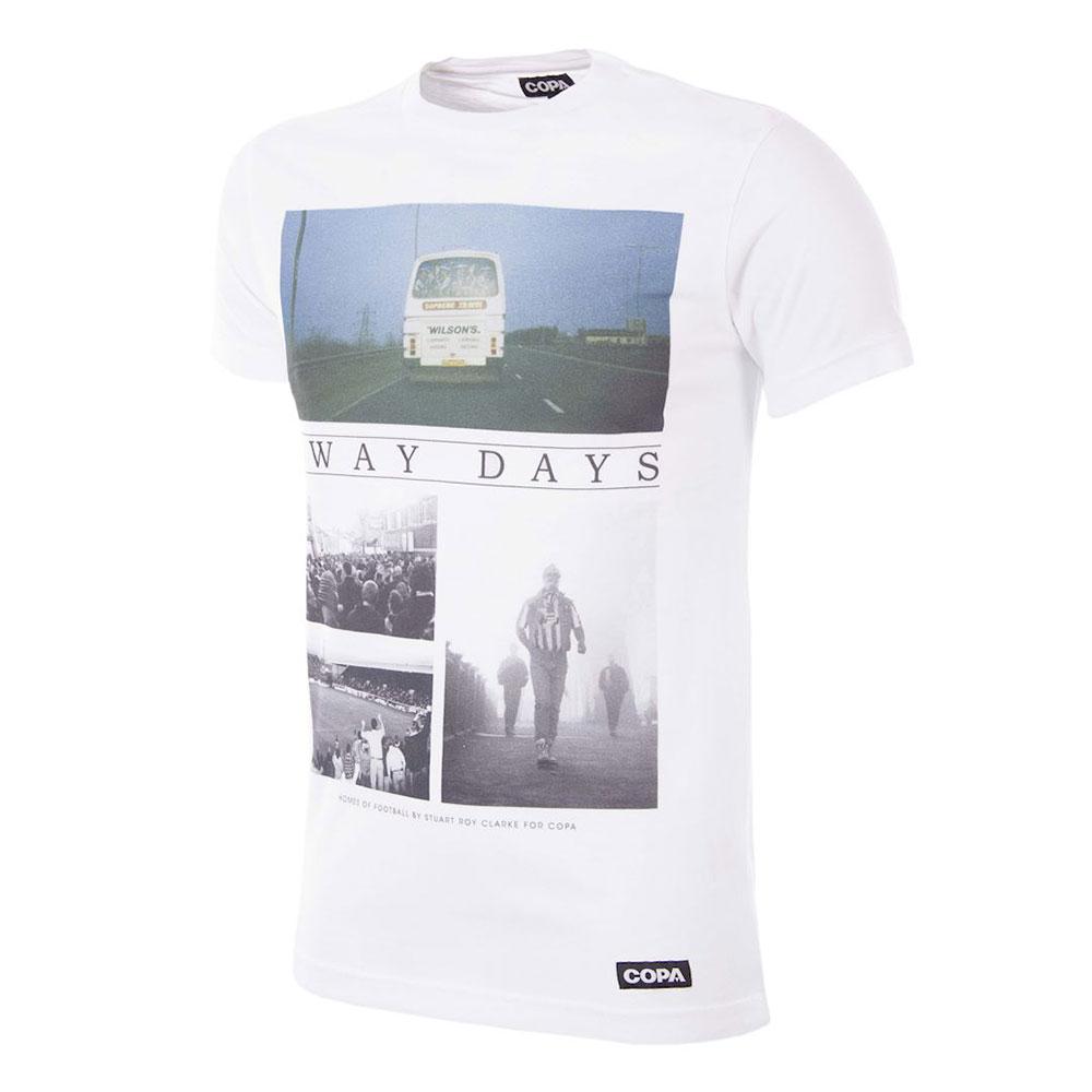 Copa Away Days Tee Shirt Casual Blanc