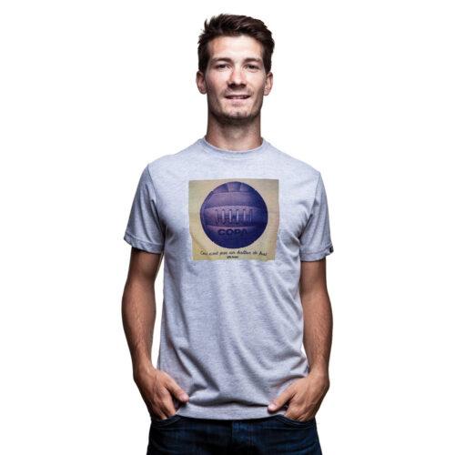 Copa Ballon de Foot Tee Shirt Casual