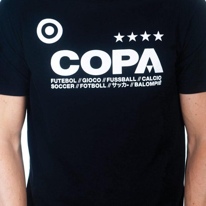 Copa Basic Maglietta Casual Nera