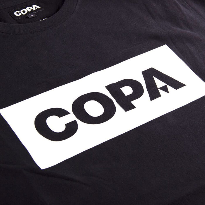 Copa Box Logo Maglietta Casual Nera