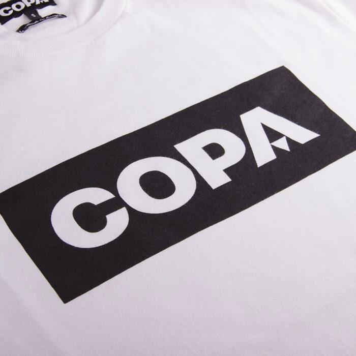 Copa Box Logo Maglietta Casual Bianca