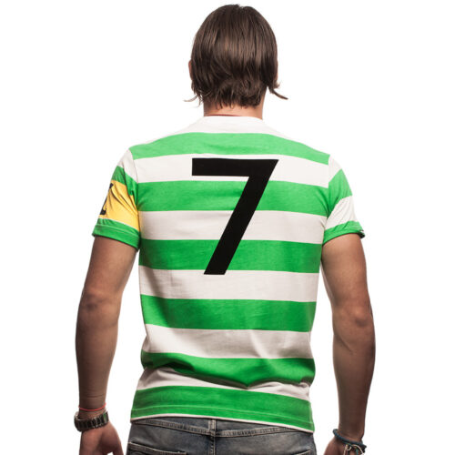 Copa Celtic Glasgow Capitano Maglietta Casual