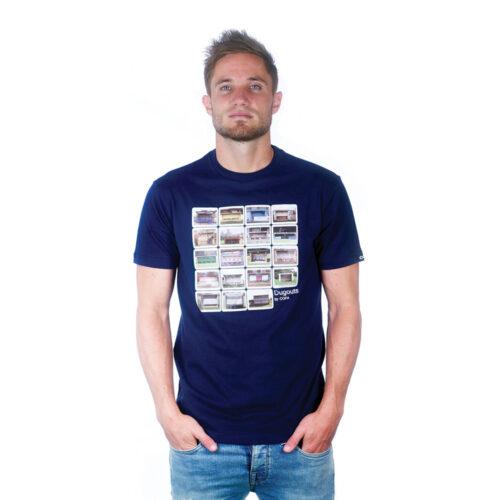 Copa Dugouts Camiseta Casual Azul