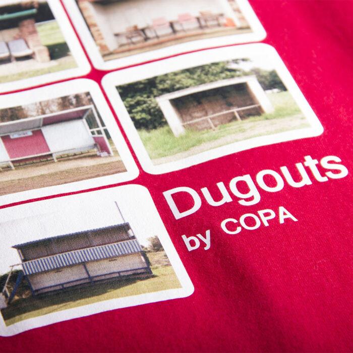 Copa Dugouts Maglietta Casual Rossa