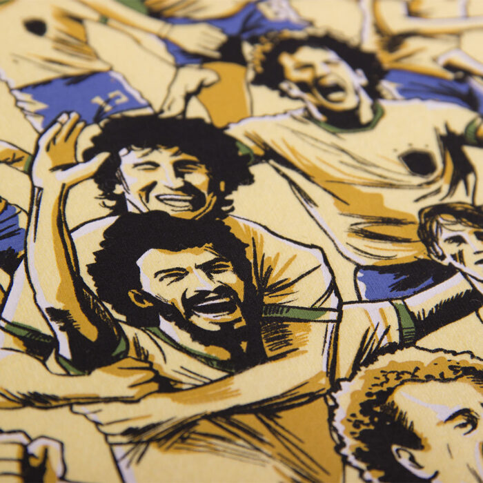 Copa Futebol Samba Maglietta Casual