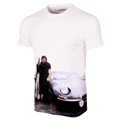 George Best E-Type All Over Maglietta Casual