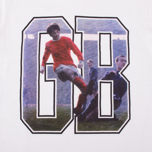 George Best GB Maglietta Casual
