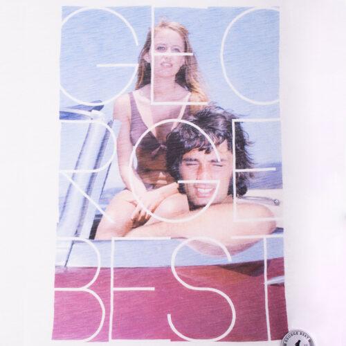 George Best Mallorca 1969 Maglietta Casual