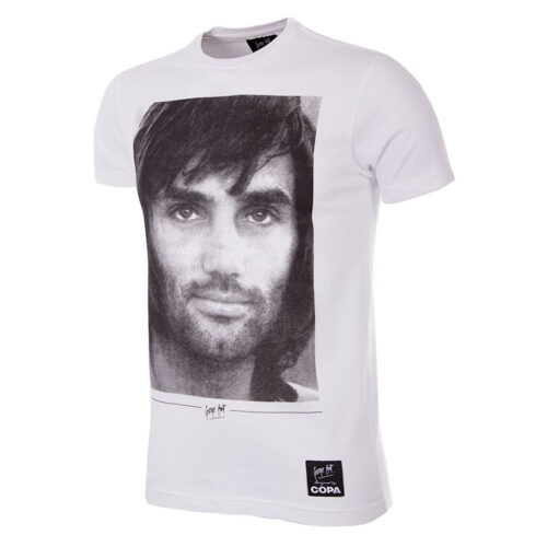 George Best Portrait Camiseta Casual