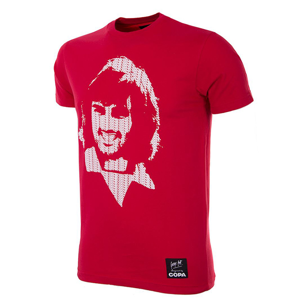 George Best Repeat Logo Maglietta Casual