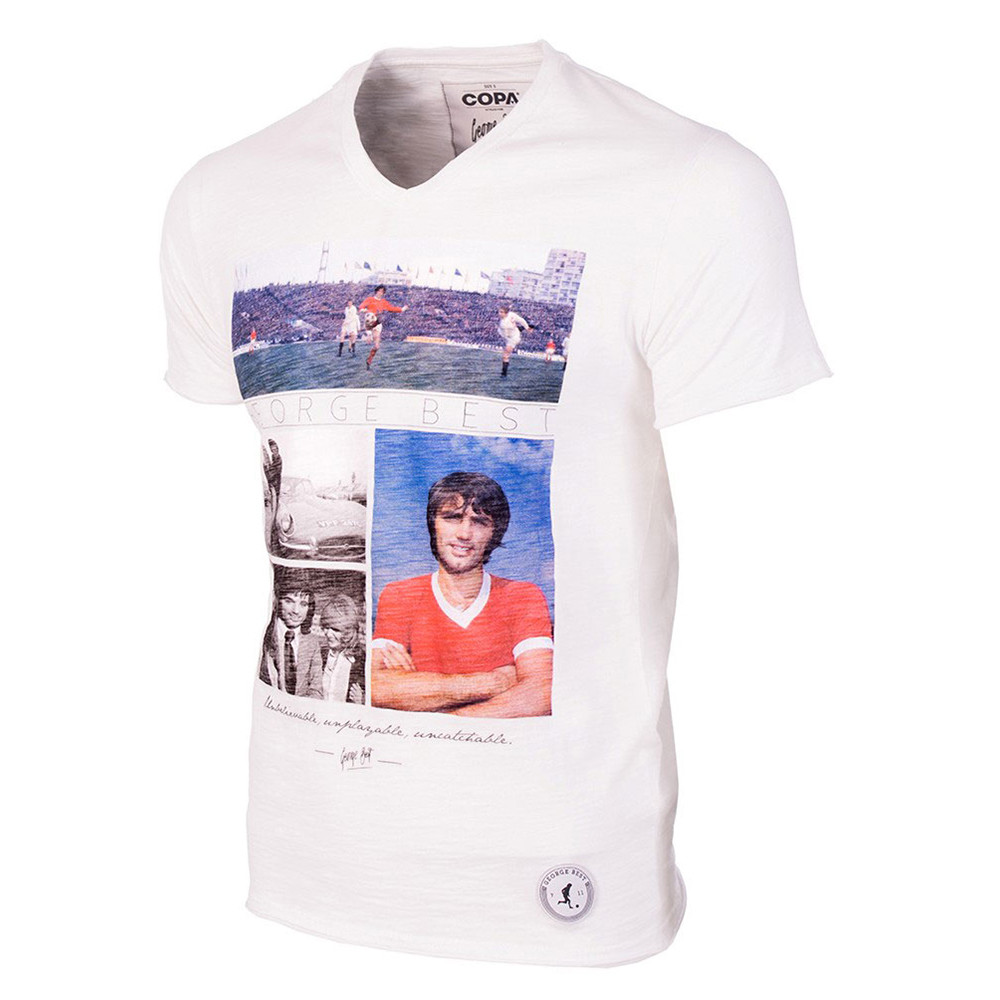 George Best Unbelievable Maglietta Casual