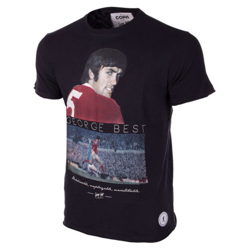 George Best United Camiseta Casual