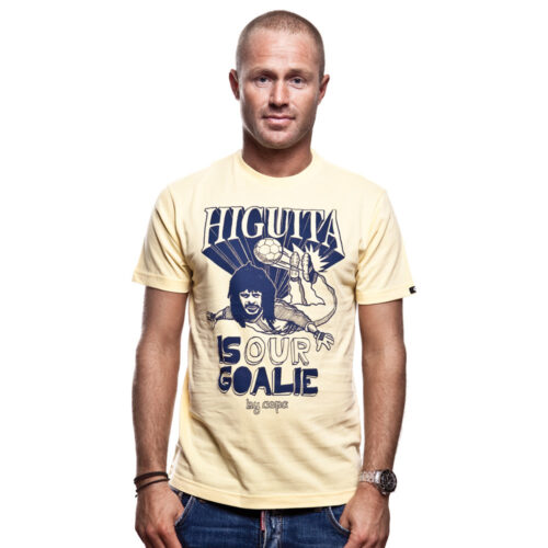 Copa Higuita Casual T-shirt Yellow
