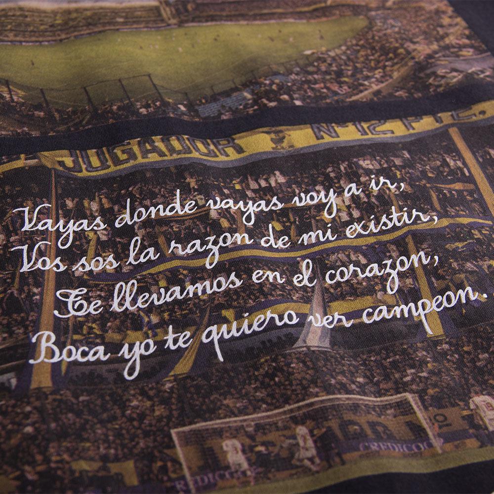 Copa La Bombonera Maglietta Casual Nera