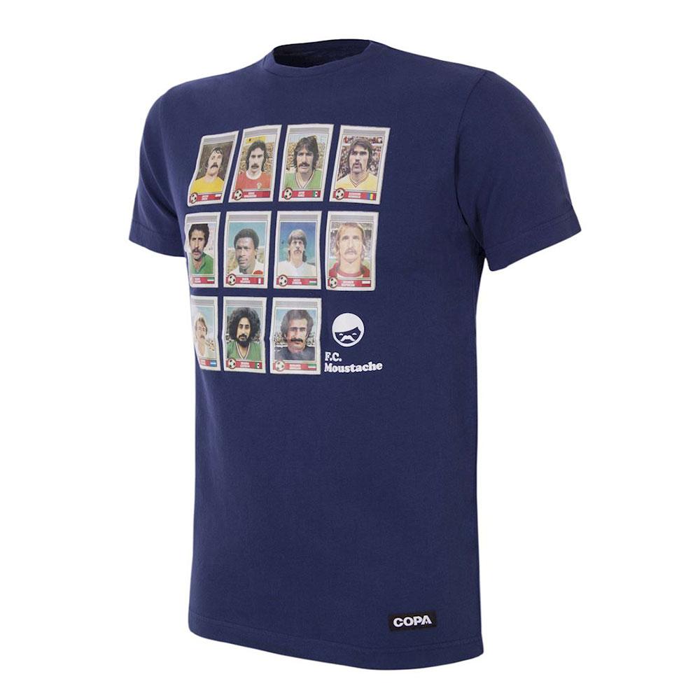 Copa Moustache Dream Team Maglietta Casual Blu
