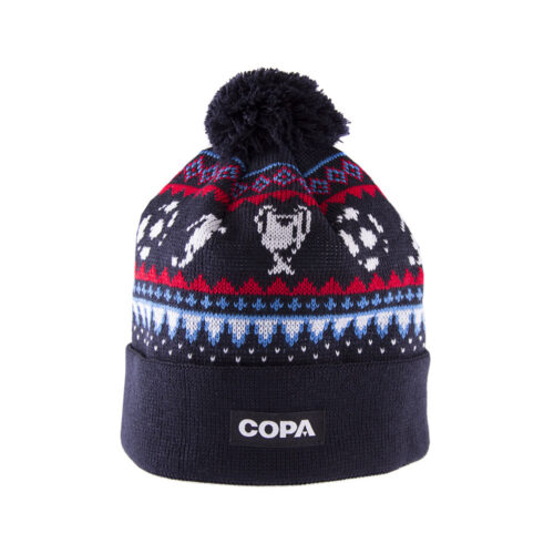 Copa Nordic Knit Beanie Navy