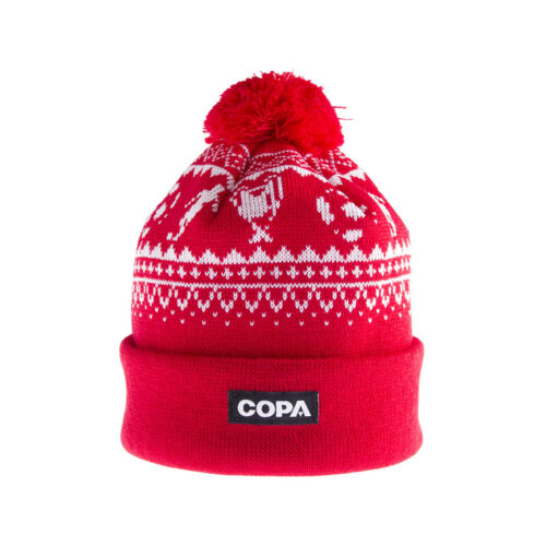 Copa Nordic Knit Beanie Red