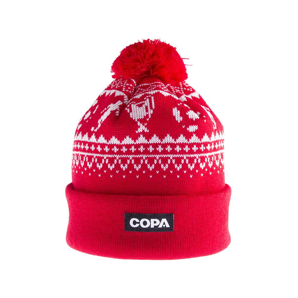 Copa Nordic Knit Beanie Red · Copa Nordic Knit Berretto Rosso 129fb7812166
