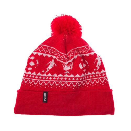 Copa Nordic Knit Berretto Rosso