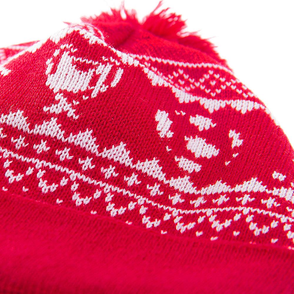 Copa Nordic Knit Beanie Red - Retro Football Club ® 35ae1152a683