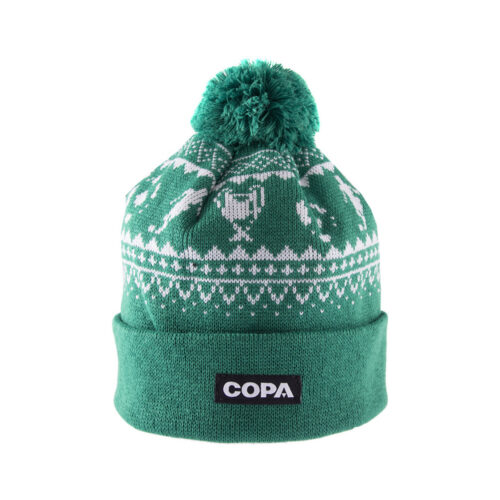 Copa Nordic Knit Beanie Green