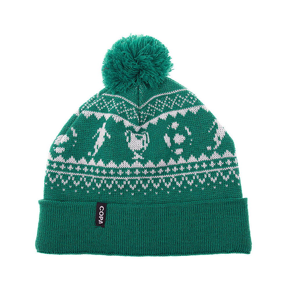 30d8a9112 Copa Nordic Knit Gorro Verde - Retro Football Club ®