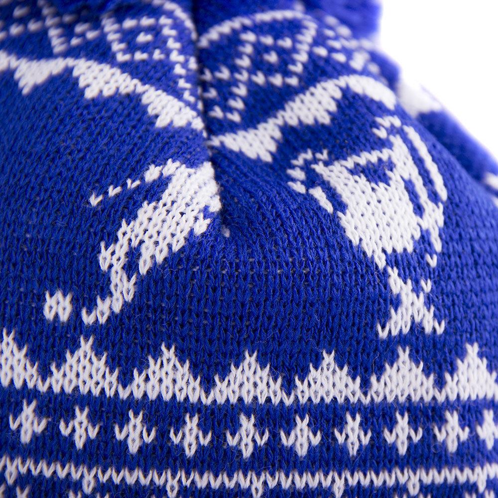 Copa Nordic Knit Berretto Azzurro - Retro Football Club ® 034001c97438