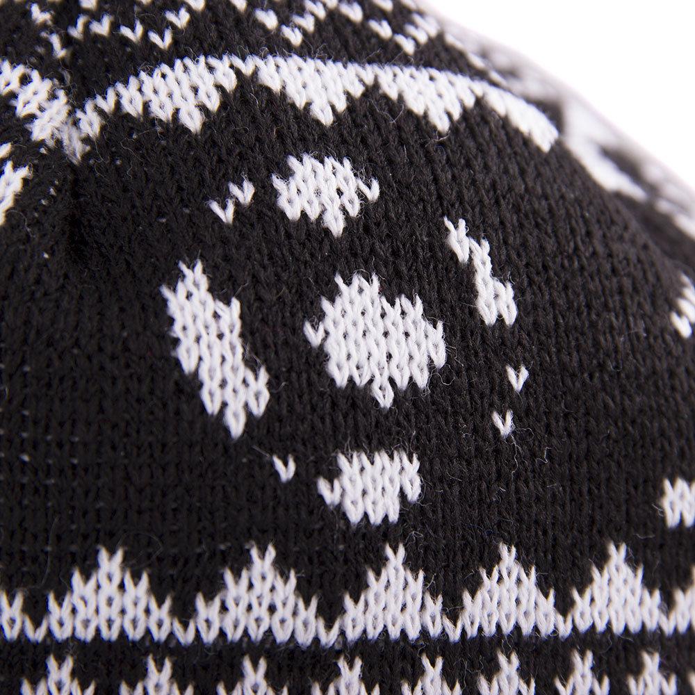Copa Nordic Knit Berretto Nero - Retro Football Club ® 9678b4ac4cb9