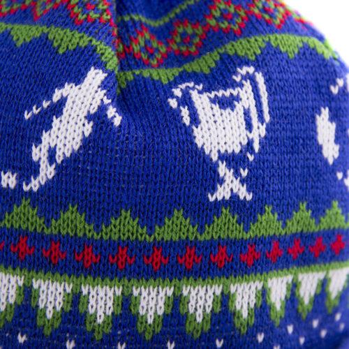 Copa Nordic Knit Berretto Azzurro Verde