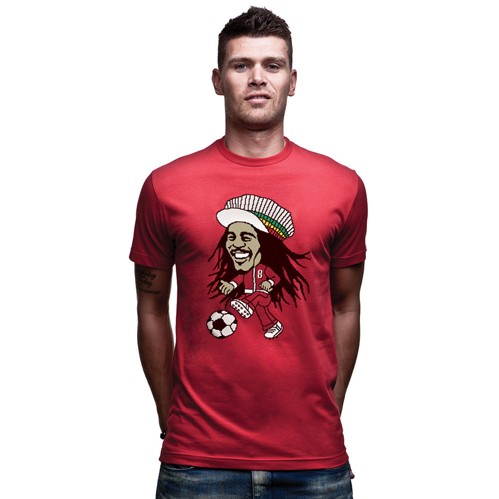 Copa Reggae Football Tee Shirt Casual