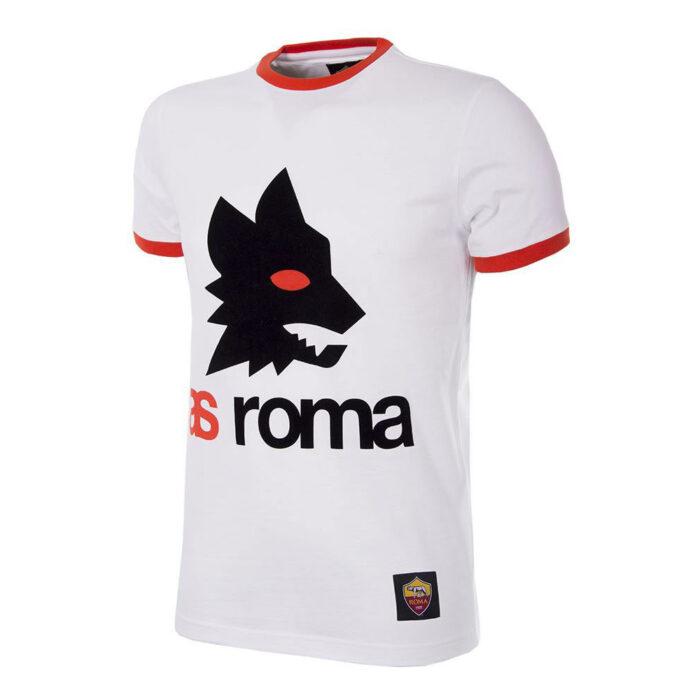 Roma Retro Logo Maglietta Casual