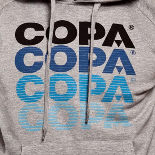 Copa Striped Logo Felpa Casual