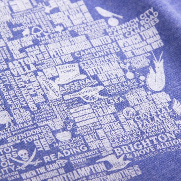 Copa UK Grounds Maglietta Casual Azzurra