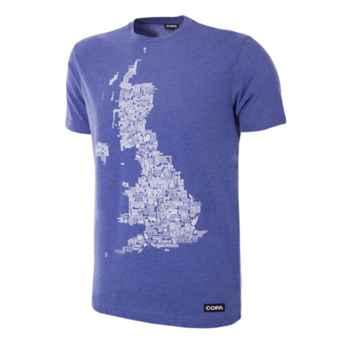 Copa UK Grounds Casual T-shirt Blue