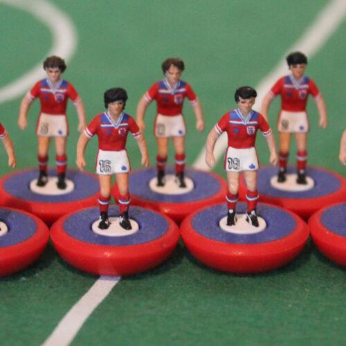 Inghilterra 1982 Away Squadra Subbuteo