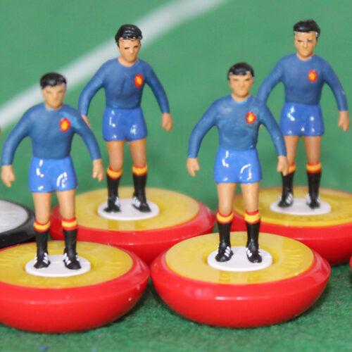 Spain 1964 Away Subbuteo Team