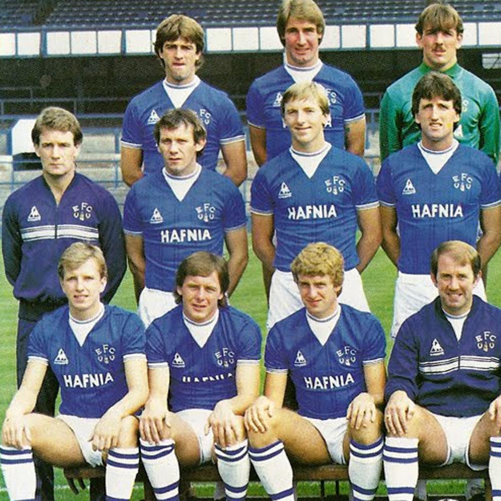 Everton 1983-84 Giacca Storica Calcio