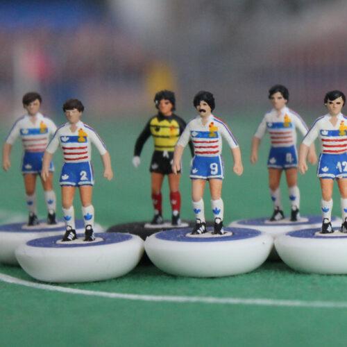 Francia 1984 Away Squadra Subbuteo