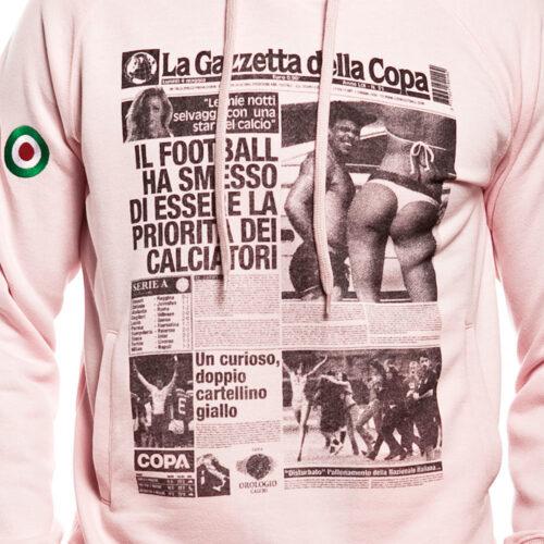 Gazzetta della Copa Felpa Casual