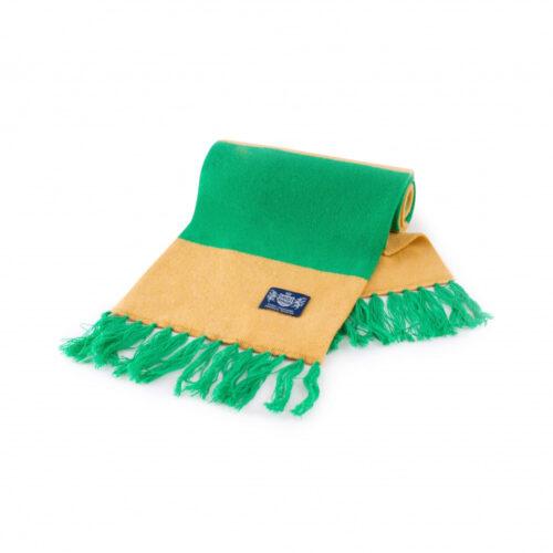 Sciarpa Cashmere Oro-Verde Deluxe