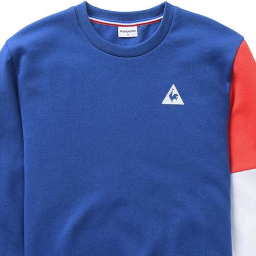 Tricolore Felpa Casual Azzurra