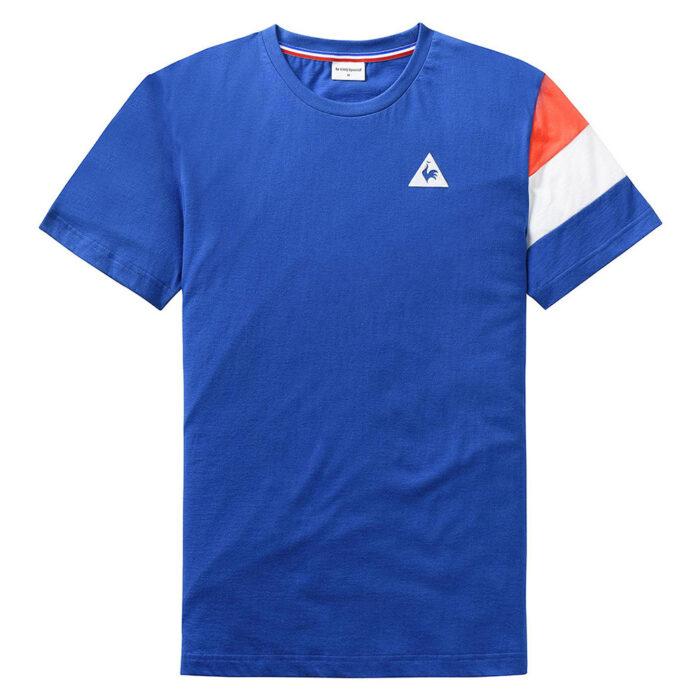 Tricolore Maglietta Casual Azzurra