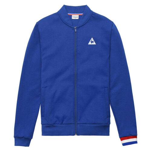 Tricolore Casual Track Top Royal